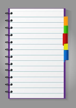 Notepad Stock Vector - 10861778
