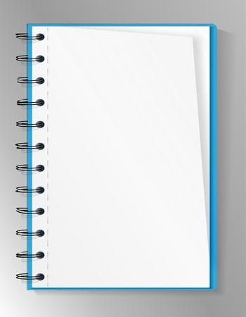 spiral notebook: Spiral notebook Illustration