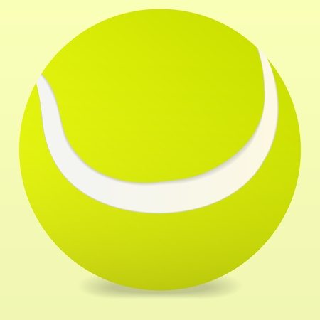 ping pong: Pelota de tenis