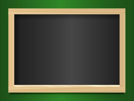 Blank chalkboard Stock Vector - 10861783