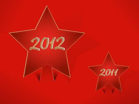 christmass: Estrella en el estilo christmass