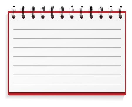 Lined spiraal notebook