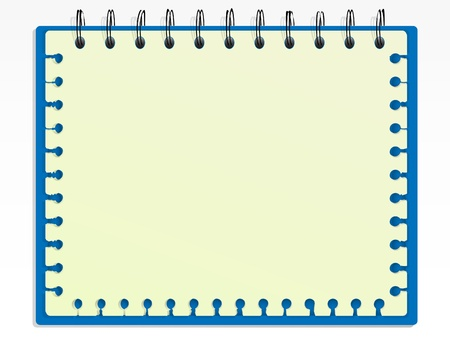 old diary: Spiral notepad