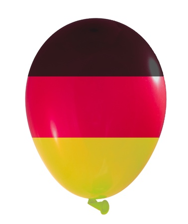 Germany flag in balloon style photo