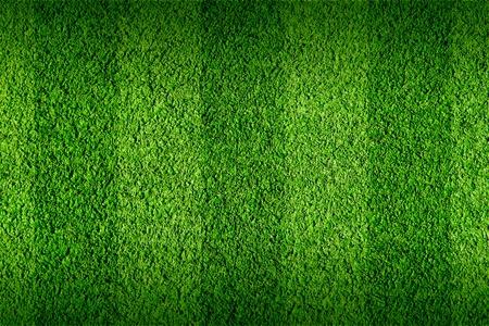 pasto sintetico: No es natural, de fútbol de hierba verde Foto de archivo