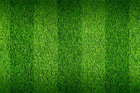 Not natural football green grass photo