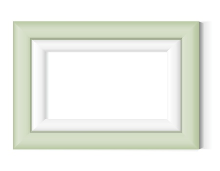 grunge photo frame: Old Fashion cornice fotografia Vettoriali