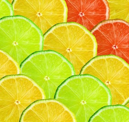 Citrus slice background photo