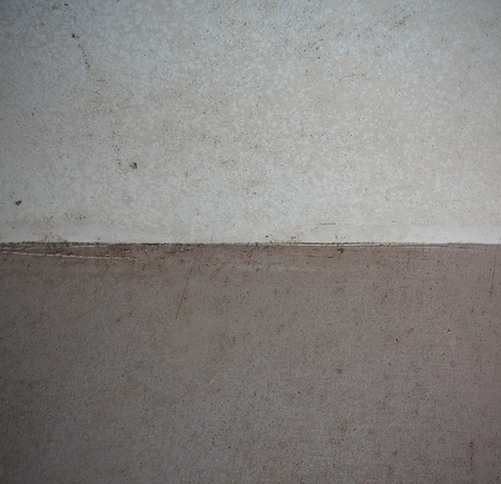 Corner from the plaster material photo