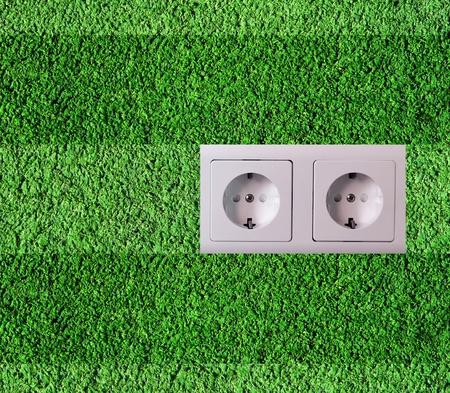 Green energy concept photo