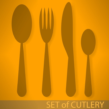 Silverware icon Vector