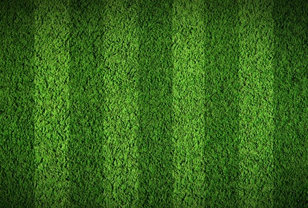 indoor soccer: Not natural football green grass Stock Photo