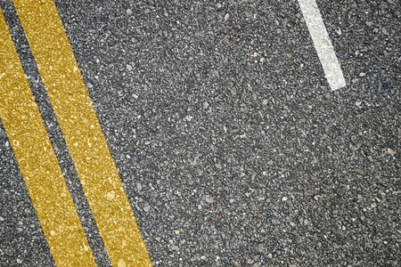 Asphalt texture with separation lines photo