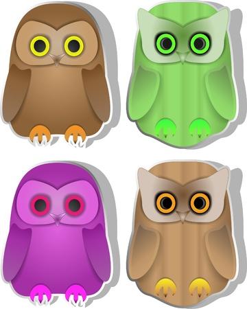 fledgling: Owls