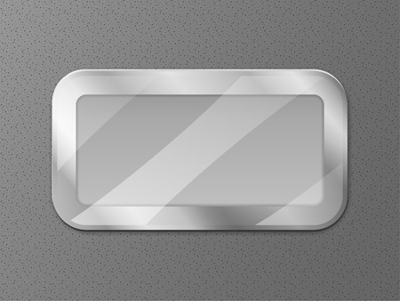 Metal display Vector