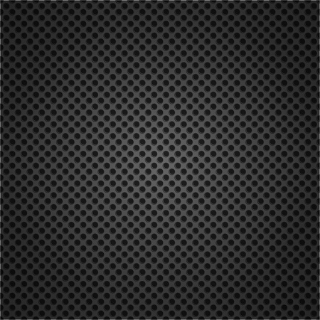 Dotted metal texture Vector