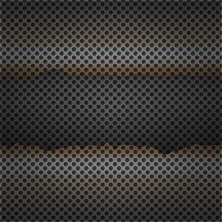 grid texture: Metal texture