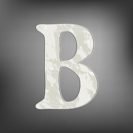 Letter B Stock Vector - 13128556