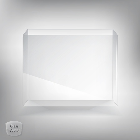 Glass box Stock Vector - 13431192