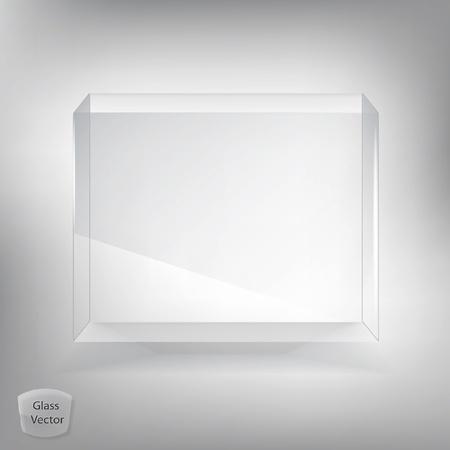 Glass box Illustration