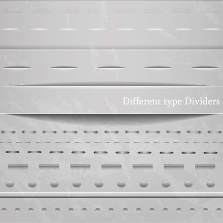 Web dividers Stock Vector - 13540704