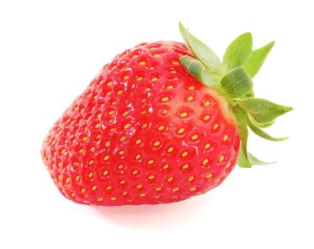Strawberry isolated on white background Stock Photo - 13595951