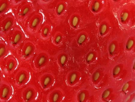 De fondo de fresa jugosa Foto de archivo