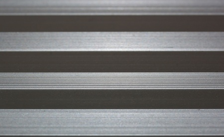 Lined metal surface Stock Photo - 13595960