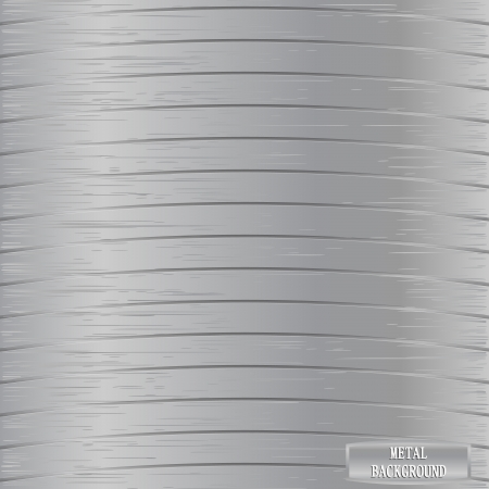 silvery: Metal background