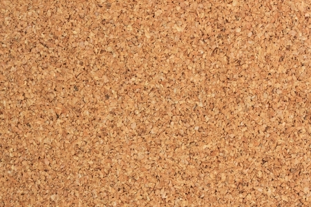 Brown cork board  for background