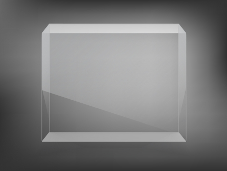 transparent showcase Vector