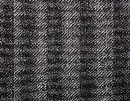 Lined cotton  gray fabric surface photo