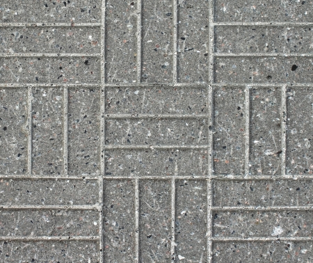 Pattern of the brick road Stock Photo