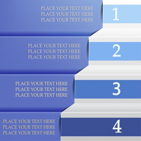 selections: Option choice bar with four selections Illustration