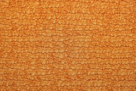 Orange curtain fabric texture photo