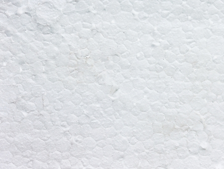 synthetically: Pattern of the white styrofoam surface