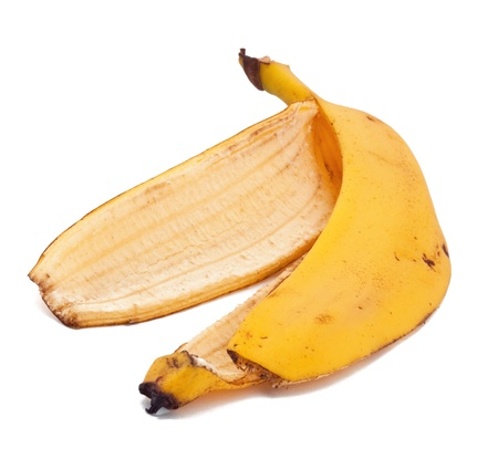pitfall: Banana skin on the white