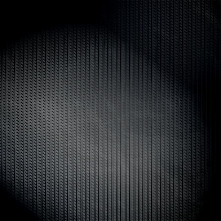 fibra de carbono: Fondo oscuro superficie metálica con el lugar para el texto