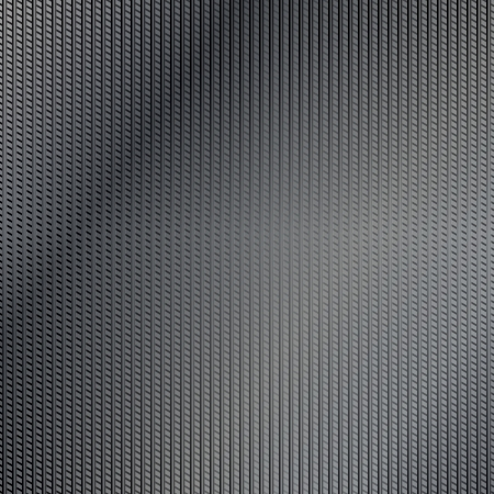 punched metal surface: Drak lined metal surface background Illustration
