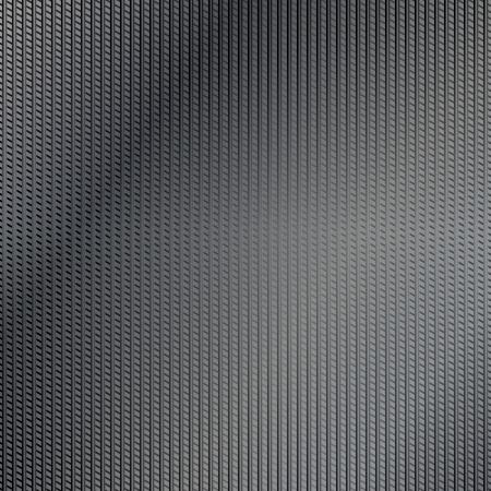 structure corduroy: Drak lined metal surface background Illustration