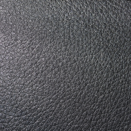 Black skin leather background Stock Photo