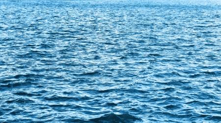 olas de mar: Patr�n de la superficie del mar en el horizonte