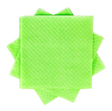 Table napkins isolated on white background Stock Photo - 15820059