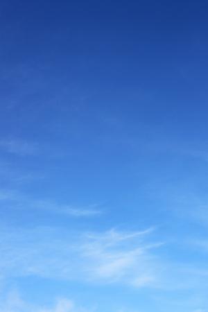 부드러운 푸른 하늘 배경