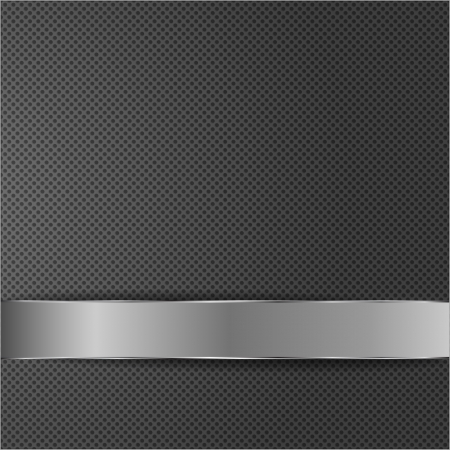 Metal dot grid surface