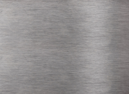 brushed: Brushed aluminum metal surface