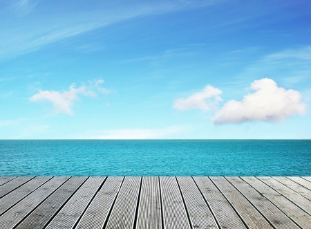 berth: Beautifu sea view on sunny day