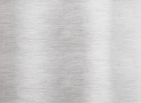 Brushed aluminum metal surface