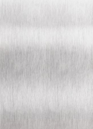 솔질 된 알루미늄 금속 표면