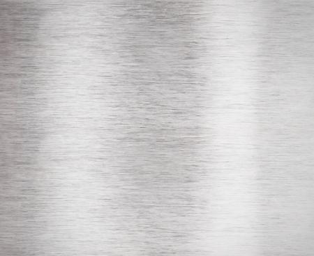 ブラシをかけられたアルミニウムの金属表面